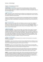 SAMENVATTING: Short Summary Trend forecaster's Handbook - Methodology 1