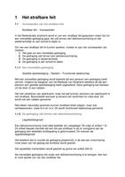 SAMENVATTING: Praktisch Straf(proces)recht