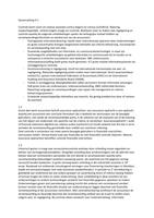 SAMENVATTING: Grondslagen auditing & assurance