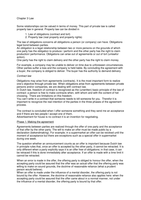 SAMENVATTING: Business Organisation & Law, chapter 3