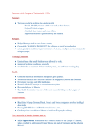 SAMENVATTING: Successes of the League of Nations in the 1920s - History IGCSE