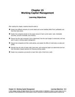 MANUAL: Finance 3000 Manual Chapter 15