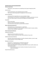LECTURE NOTES: ORGANIZATIONAL BEHAVIOUR/MANAGEMENT