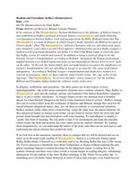 ESSAY: Kafka's Metamorphosis: Realism vs Unrealism