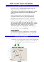 LECTURE NOTES: Uitgebreide aantekeningen hoorcollege fysiologie van het hart