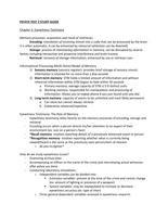 Exam: PSY474 Exam 2