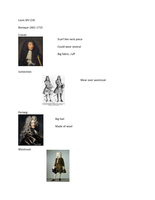 LECTURE NOTES: FAS335 Louis XIV