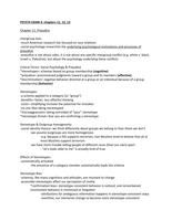 Exam: PSY274 Exam 4