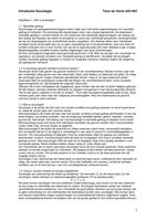 SAMENVATTING: Samenvatting boek van de cursus (van Tubergen)