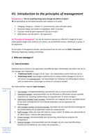 SAMENVATTING: Samenvatting Inleiding, marketing, HRM