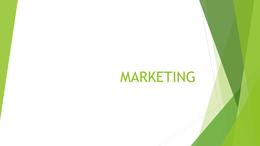 PRESENTATION: P1 - Marketing