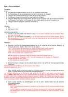 Answers: Europees Recht K1 uitwerking werkcolleges uitgebreid week 1-6
