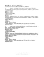 Exam: Dessler 15e C03