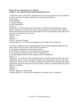 Exam: Dessler 15e C04