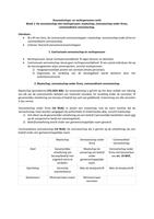 SUMMARY: Overzicht Vennootschaps- en rechtspersonenrecht