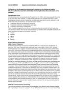 ESSAY: Unit 11 - Safeguarding adults P6 M3 D2