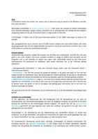 OTHER: Strafrechtspleging aantekeningen Hoorcollege 1