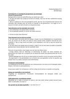 OTHER: Strafrechtspleging aantekeningen Hoorcollege 11