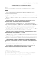 SUMMARY: Complete samenvatting colleges én alle artikelen O21C 2017