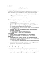 LECTURE NOTES: Myers Chapter 15: Social Psychology in Court