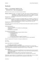 SAMENVATTING: Samenvatting Strafrecht