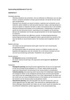 SAMENVATTING: Toegepaste organisatiekunde Samenvatting H7 tm H11