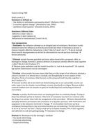 SAMENVATTING: persuasion & resistance exam 1