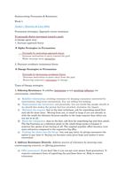 SAMENVATTING: Persuasion & Resistance exam 2