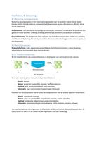 SAMENVATTING: Een praktijkgerichte benadering van Organisatie en Management Hoofdstuk 8