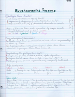 SUMMARY: Barron's AP Review Notes - Geologic Time Scale