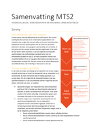 SUMMARY: Complete samenvatting MTS2 Methoden deel