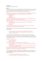 SUMMARY: Alle leerdoelen Staatsrecht 2016/2017 uitgewerkt