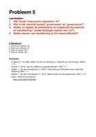 OVERIG: Rechtssociologie Uitwerking Werkgroep 5