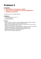 OVERIG: Rechtssociologie Uitwerking Werkgroep 2
