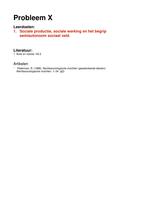OVERIG: Rechtssociologie EXTRA UITWERKING