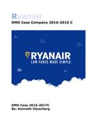 MANUAL: Case company information Ryanair