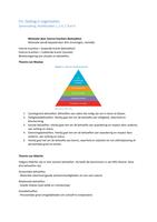 SAMENVATTING: Samenvatting gedrag in organisaties (OPM) B-semester