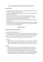 LECTURE NOTES: The Cold War - Division of Europe 1