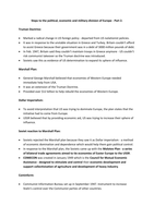 LECTURE NOTES: The Cold War - Division of Europe 2