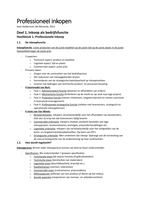SUMMARY: Samenvatting Professioneel Inkopen