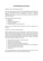 RESUME: Maatschappijwetenschappen: Ontwikkelingssamenwerking. vwo 6
