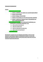 RESUME: Samenvatting Organisatieonderzoek van de reader, het boek (Dit is onderzoek! Handleiding voor kwantitatief en kwalitatief onderzoek. 1e dr. )en het proeftentamen