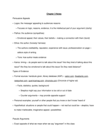 NOTES DE COURS: Chapter 3 Notes