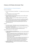 RESUME: History 214 Notes for Semester Test