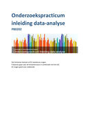 SUMMARY: Samenvatting inleiding data-analyse PB0202