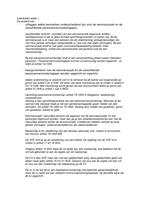 OTHER: Leerdoelen Ondernemingsrecht K7