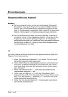 Antworten: Einsendeaufgabe Wissenschaftliches Arbeiten