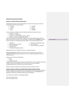 LECTURE NOTES: Molecules genes and cells 1 full lecture notes