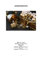THESIS: Juweliersbranche examenjaar