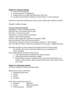 SAMENVATTING: Sp Cm 110 - Spring 2017 - Final Exam Review